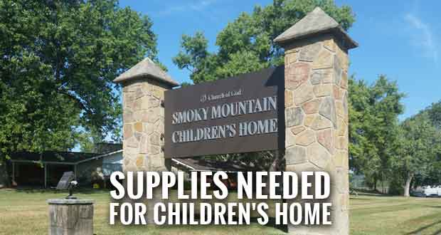 Tractor-Trailer Wreck Delays Supplies for Smoky Mountain Children's Home