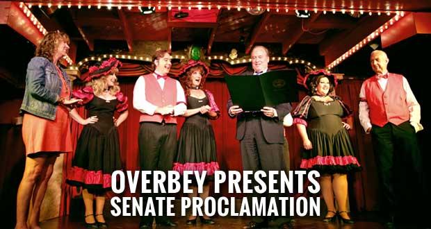 Sweet Fanny Adams Gets Senate Proclamation Honoring 40th Anniversary