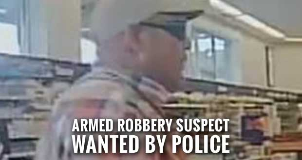 Pigeon Forge Police Search for Walgreens Armed Robbery Suspect