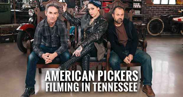 American Pickers Looking for Collections to Pick in Tennessee