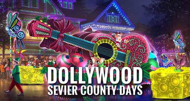 Sevier County Days at Dollywood's Smoky Mountain Christmas