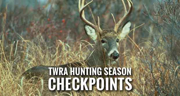 TWRA to Conduct Roadblocks During Hunting Seasons
