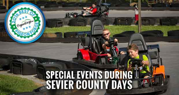 Sevier County Days at Nascar SpeedPark to Benefit Local Charities