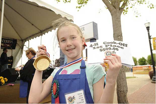 McKenna Layman, a Sevier County 4-H member, was the National Winner in 2015.