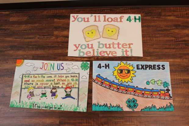 Sevier County 4-H Posters to Compete in State Contest