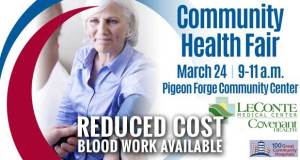 Free Community Health Fair Planned in Pigeon Forge