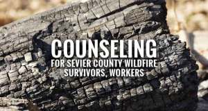 FEMA Offers Free Crisis Counseling for Sevier County Wildfire Survivors and Workers