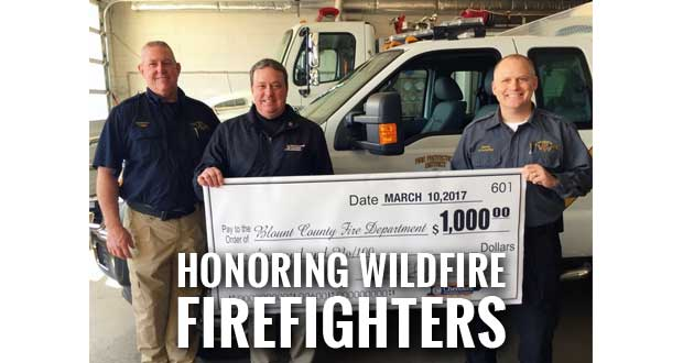 Cherokee Distributing, MillerCoors Donate to 12 Local Fire Departments