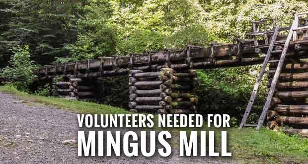 Smokies Seeks Volunteers to Tell History of Mingus Mill