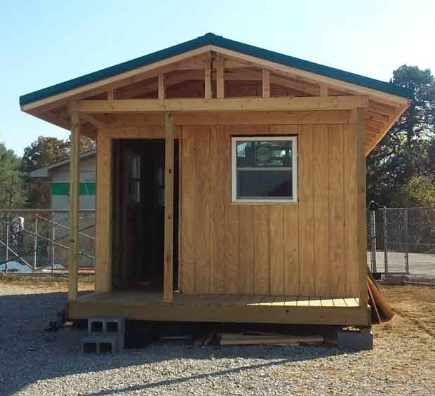 Building a Tiny Home for a disabled veteran
