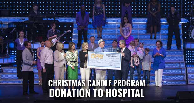 Smoky Mountain Opry Gives $100K to East Tennessee Children's Hospital