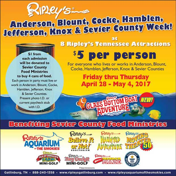 Ripley's Local County Days April 2017