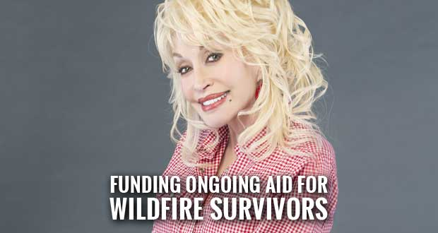 Dolly's My People Fund Gives $3M to Mountain Tough Recovery Team