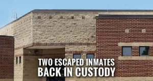 Two inmates that escaped from the Sevier County Jail on Monday are back in custody.