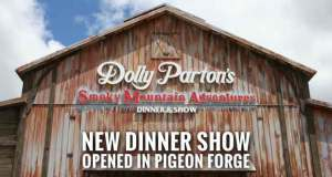 "Dolly Parton was in Pigeon Forge today for the opening of her new Smoky Mountain Adventures Dinner & Show. Fans lined up outside the theater, which formerly housed the Lumberjack Adventure Dinner Show, to catch a glimpse of Dolly getting off her tour bus and entering the new home of her Smoky Mountain Adventures Dinner & Show for the premier on Friday afternoon. Dolly took to the stage to open the show, a romantic tale of her parents meeting and a rivalry between the Owens and the Partons that features fast-paced and friendly competitions, acrobatics, theatrical performances set to Dolly's songs and storytelling by Dolly. ""The guests who have been previewing the show love it,"" Parton said. ""This is a story about my family that is fun and exciting but there is also a lot of heart. It's a sweet story about my parents meeting but it is also an exciting competition between the Owens and the Partons."" The success of NBC movies about her childhood, ""Coat of Many Colors"" and ""Christmas of Many Colors,"" inspired Dolly to create the show. Dolly Parton's Smoky Mountain Adventures Dinner & Show is located at 2713 Parkway in Pigeon Forge."