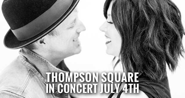 Pigeon Forge Patriot Festival to Feature Thompson Square, Fireworks Showcase