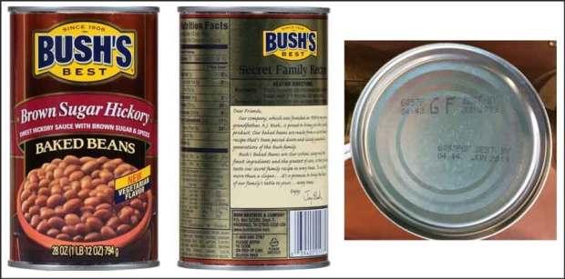 Bush's Baked Beans Recall