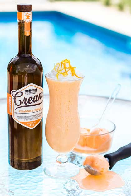Creamsicle Freeze Ice Cream Cocktail Recipe