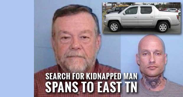 Fugitive Drove Missing Kidnap Victim's Pickup to Gatlinburg, Sevierville