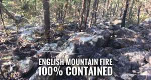 Fire Crews End Operations as Rain Quenches English Mountain Fire