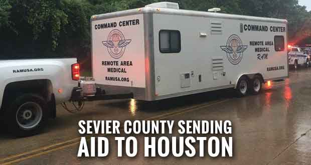 Lions Club, Remote Area Medical Collecting Supplies for Hurricane Harvey Recovery