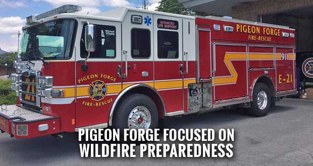 Pigeon Forge Holding Public Meeting for Firewise Program