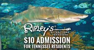 $10 for Tennessee Residents is Back at Ripley's Tennessee Attractions