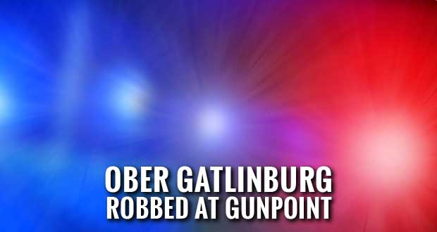 Gatlinburg Police Searching for Ober Gatlinburg Armed Robbery Suspect