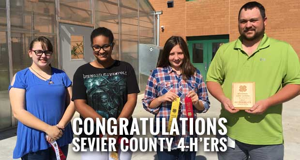 Sevier County 4-H Competes in Regional Land Judging Contest