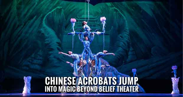 Acrobats of China Opening New Show in Pigeon Forge