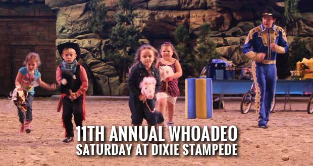 Dixie Stampede, Food City Kid's Club Hosting Children's Whoadeo