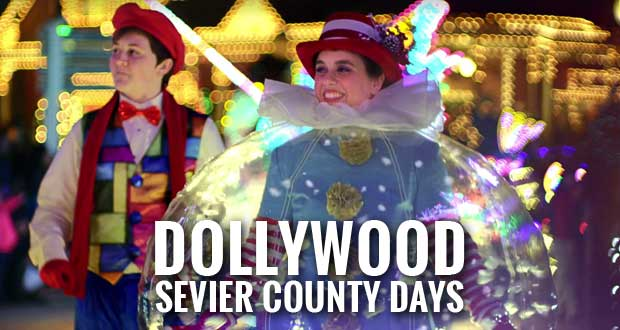 Celebrate a Smoky Mountain Christmas during Dollywood Sevier County Days
