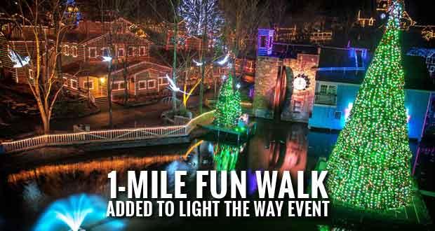 Dollywood Light the Way 5k Run & Fun Walk to Benefit Local Charities