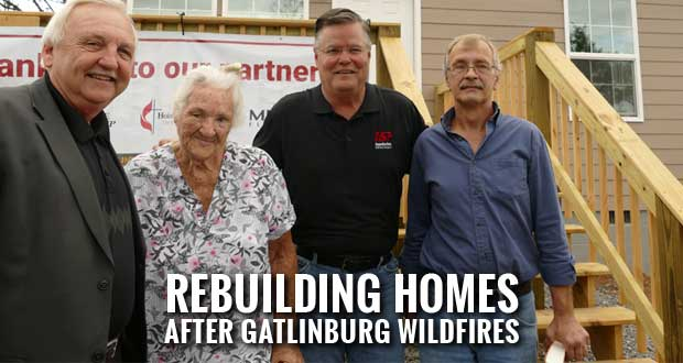 Appalachia Service Project Dedicates Two More Homes for Wildfire Victims