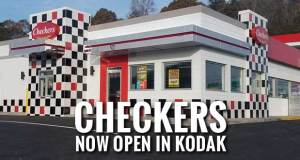 Father-Son Business Duo Open Checkers Restaurant in Kodak