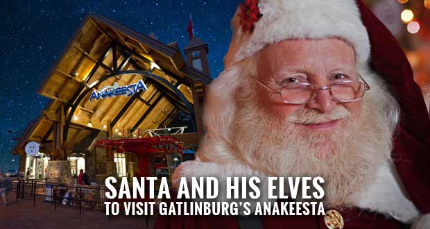 Anakeesta Parkway Plaza to be Transformed into Santa's Village