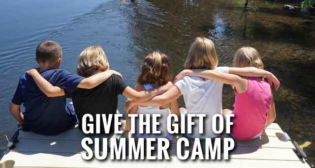 Summer Camp a Great Christmas Gift for 4H Members