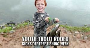 TWRA Holds Free Fishing Day for Adults, Free Fishing Week for Kids