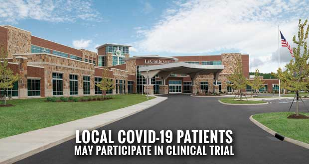 Convalescent Plasma Clinical Trial For Leconte Medical Center Covid 19 Patients