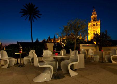 bright sofa francis corner hotel palacio alcazar, 4 star in seville