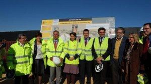 Magdalena Álvarez y Luís Garrido visitan las obras de la SE-40