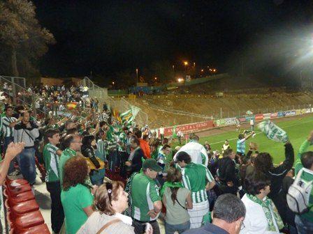 2.000 aficionados béticos se presenciaon en Montilivi