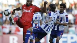 Kanoute no pudo perforar la meta de Aranzubia/SevillaFC