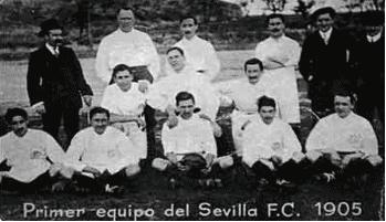 El Sevilla Fútbol Club, en su primer encuentro oficial en 1905/BalónDigital
