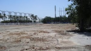 El solar del Palenque cuenta con más de 11.000 metros cuadrados desde su demolición en 2007