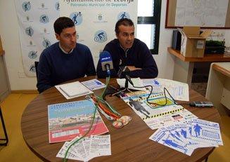 El Delegado de Deportes y el Gerente del Patronato Municipal en rueda de prensa