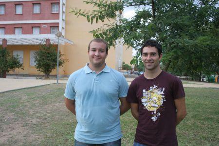 Cristobal Serrano y Javier Real, autores de la investigación