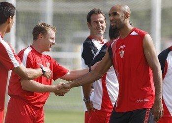 Kanouté cree que el conjnto hispalense puede llegar este año a la final de la Champions/SevillaFC