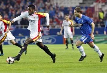 Romaric afirma que su mejor nivel todavía no se ha visto en Nervión/SevillaFC