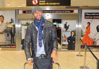 El mali será baja por unas molestias en el tobillo que sufrió en la Copa de África/SevillaFC
